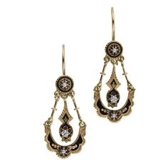 `.Vintage Earrings I'd have all sorts of Allergies to. Those details really are amazing in older pieces.