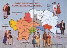 Górale Gorców, Tatr, Pienin i Beskidu Sądeckiego Anthropology, Romania, Poland, Highlanders, Ethnic, Travel, Viajes, Anthropologie