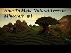 """A quick """"how to"""" series teaching you how to create a good looking organic style tree in Minecraft. Say goodbye to rectangular trees forever! Minecraft Part 1, Minecraft Tree, Minecraft Garden, How To Play Minecraft, Minecraft Buildings, Minecraft Ideas, Minecraft Stuff, Minecraft Creations, Disney Infinity"""