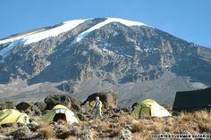 High on Kilimanjaro, Tanzania