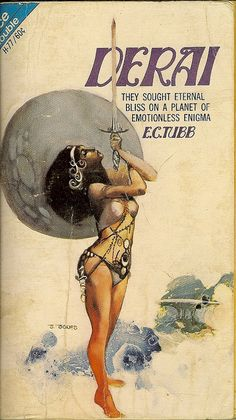 Dumarest Saga Book 2 - Derai - E.C. Tubb - 1st publication 1st edition - cover artist Jeff Jones by Cadwalader Ringgold, via Flickr