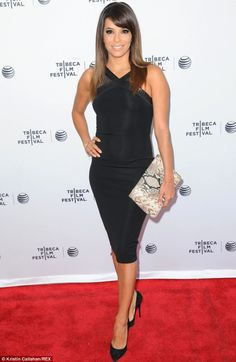 What a stunner! Eva Longoria at the premiere of documentary Food Chains at the Tribeca Fil... http://dailym.ai/1mL1gSf#i-5fce0d56