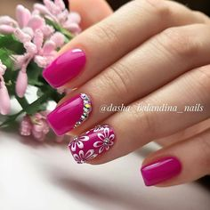 More than 100 fashionable nail designs, there is always something you like. - Page 104 of 135 - Inspiration Diary Mani Pedi, Pedicure, Gel Nails, Nail Polish, Weird And Wonderful, Nail Artist, Cute Nails, Summer Nails, Hair And Nails