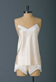 "Brulee Camisole - Vamp Cami in Peach Silk, Olivia Pope, Scandal, Episode 220 ""A Woman Scorned"""