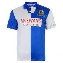 Rovers Retro 94 95 Home Shirt Blackburn Rovers e596d2b28