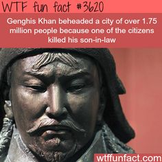 How many people Genghis Khan killed? - WTF fun facts
