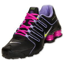 womens nike shox current gold purple