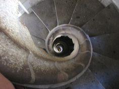 Staircase of the Segrada Familia tower