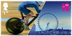 Faith is Torment | Art and Design Blog: Royal Mail Olympic Welcome Stamps by Hat-Trick Design