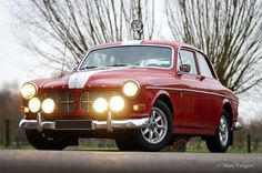 Volvo Amazon 122S in Rally uitvoering
