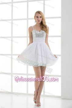 Cute dress for your court of honer at your 15