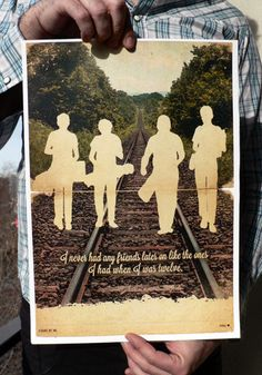 Stand by Me Movie Poster Vintage Style Magazine by CinemaStudio