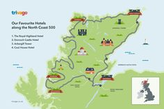 The North Coast 500 is Scotland's newest driving route. To help you find your ideal hotel, we've handpicked our favourite hotels along the NC500.