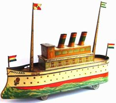 a beautiful boat at Holland Toys