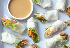 If you have time to toast bread, you have time to roll these delicious fresh spring rolls.
