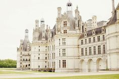 Chateaux De Loire, France. The Loire is France's longest river with many exquisite chateaux and palaces along its banks.