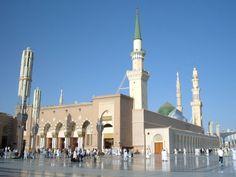 Bahar-e-Durood O Salam: Gumbad-e-Khazra / Masjid-e-Nabawi Al Masjid An Nabawi, Best Islamic Images, Medina Mosque, Desi Girl Image, Islamic Messages, Madina, Alhamdulillah, Beautiful Places To Visit, Burj Khalifa