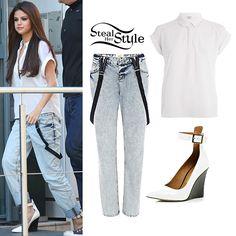 Selena Gomez arriving at NRJ Radio studios in Paris September 5th, 2013 - photo: smg-news