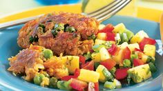 The sweet, earthy flavors of carrots and peas temper the kick of Jamaican jerk seasoning in these Caribbean-inspired patties. For even speedier Vegetarian Times, Vegetarian Recipes, Vegetarian Dinners, Jamaican Jerk Seasoning, Veggie Patties, Sweet Potato Wedges, Patties Recipe, Veggie Delight, Vegan Main Dishes