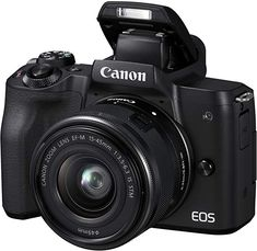Shop Canon EOS Mirrorless Camera with EF-M IS STM Zoom Lens Black at Best Buy. Find low everyday prices and buy online for delivery or in-store pick-up. Reflex Camera, Slr Camera, Camera Tripod, Leica Camera, Camcorder, Wi Fi, Canon Kamera, Camara Canon Eos, Appareil Photo Reflex