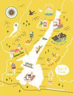 """다음 @Behance 프로젝트 확인: """"Art of the Map"""" https://www.behance.net/gallery/62658229/Art-of-the-Map"""