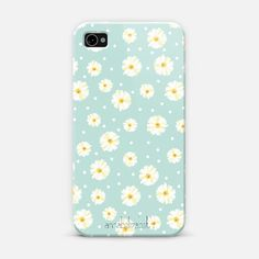 Daisies | @Casetify Artist Collection | by Annabel Grant #pattern #pastel