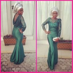 Let's All Swoon Over These Sexy, Sassy & Hot Aso-Ebi Styles