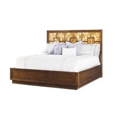 Check out the Lexington Furniture 458-134C Mirage Harlow King Harlow Panel Bed