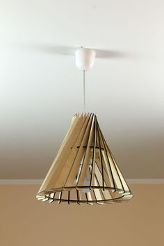 Wood Lamp / Eco-friendly / Wooden Lampshade / Decorative ceiling lamp in Home & Garden, Lighting, Fans, Lamp Shades | eBay