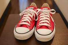 cute+outfits+with+red+converse | Red Converse Shoes: Cute or Clownish? - FPgirl Style Mag