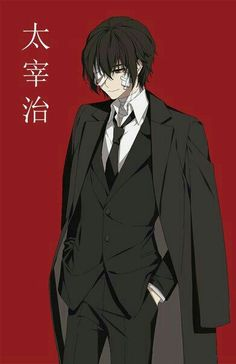 Dazai Osamu in Port Mafia Anime Boys, Dark Anime Guys, Manga Boy, Bungou Stray Dogs Wallpaper, Dog Wallpaper, Dazai Bungou Stray Dogs, Stray Dogs Anime, Mafia, Handsome Anime Guys