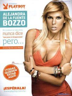 Alejandra de la Fuente Bozzo en Playboy México Febrero 2013.