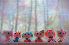 Mini Lalaloopsy by BohemianDolls, via Flickr #Lalaloopsy #Lalagraphy