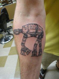 AT-AT Tattoo