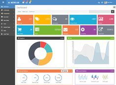 Devoops V Bootstrap Admin And Dashboard Template Dashboards - Customer dashboard template