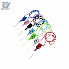 Detachable Neck Strap Band Lanyard for Cell Phone Camera USB Flash Drive ID Card Badge And Other Electronic Devices