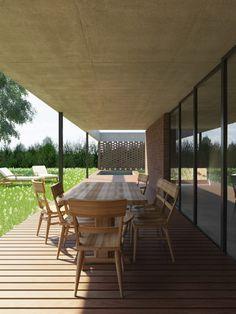Mirá imágenes de diseños de Casas estilo moderno: Casa B. Encontrá las mejores fotos para inspirarte y creá tu hogar perfecto.