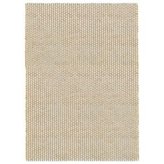 Natural Fiber Indigo 8 ft. x 10 ft. Hand Woven / Hand Loomed with Jute & chenille in India Modern Contemporary Geometric Distressed Ikat Rustic Collegiate Dockside Indoor Rectangle Area Rug, Blue