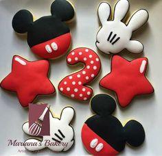 Galletas Mickey Mouse (1 Docena) - $ 300.00 en MercadoLibre