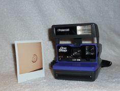 Upcycled Royal #Purple #Vintage #Polaroid 600 by UpcycledClassics, $69.00