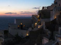 oia santorini after sunset