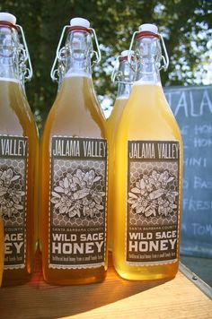 The curated kitchen: wild sage honey