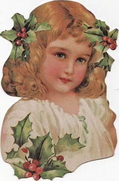 Vintage Holiday Ephemera you add flat card back and your choice fabric skirts. Vintage Christmas Images, Vintage Holiday, Christmas Pictures, Vintage Images, Vintage Greeting Cards, Vintage Ephemera, Christmas Greeting Cards, Vintage Postcards, Victorian Christmas