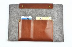 Lenovo Yoga pro case Leather laptop sleeve  Yoga 3 by FeltBagWorld