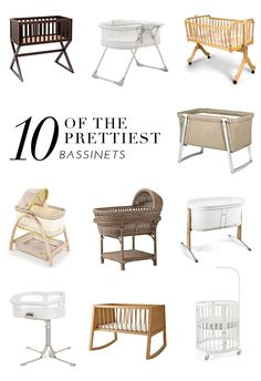10 Of The Prettiest Bassinets | theglitterguide.com