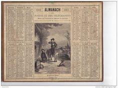 calendrier 1883