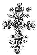 Motif de dessin Kabyle Tatouage Berbère, tatouages et culture Berbère, Kabyle, Amazigh