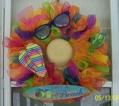 Beach wreath Summer wreath