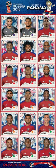 Panama 2018 Uefa Football, Best Football Team, World Football, Football Players, World Cup Russia 2018, World Cup 2014, Fifa World Cup, World Cup 2018 Teams, Panama Soccer