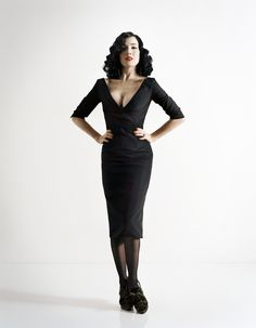 Dita Von Teese- I would steal her wardrobe any day of the week.